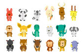 Animal Bigset — Vector de stock