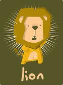 Lion vector — Stock Vector