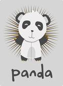 Panda wektor — Wektor stockowy