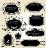 Frames do vintage — Vetorial Stock
