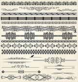 Calligraphic and decor design elements — Stock Vector