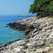 Magic rocky sea landscape in Pritzba, Croatia — Stock Photo