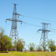 Stock Photo: Transmission line