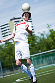 Soccer player — Photo