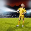 Soccer girl — Stock Photo #11701080