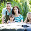Fishing family — Stock Photo #11844470