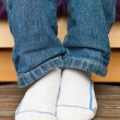 Child's feet — Stock Photo #12185392