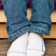 Child's feet — Stock Photo