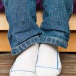Child's feet — Stock Photo #12185392