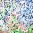 Shredded paper — Stockfoto