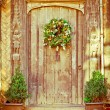 Christmas wreath — Stock Photo #12366618