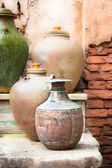 Old pots — Stock Photo