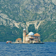 ������, ������: Island in the sea bay of Kotor Montenegro