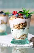 Healthy dessert — Stock Photo