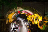 Vivid Sydney Tunnel — Stock Photo