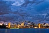 Sydney Harbour Twilight — Stock Photo