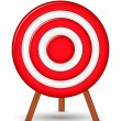 Red Target — Stock Vector #10776036