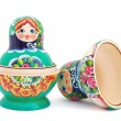 Russian nesting dolls - Stock Photo