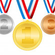 Medals — Stock Vector #11058412