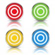 Stock Vector: Targets