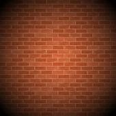 Vintage Brick Wall — Stock Vector