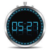 Dijital zamanlayıcı — Stok Vektör