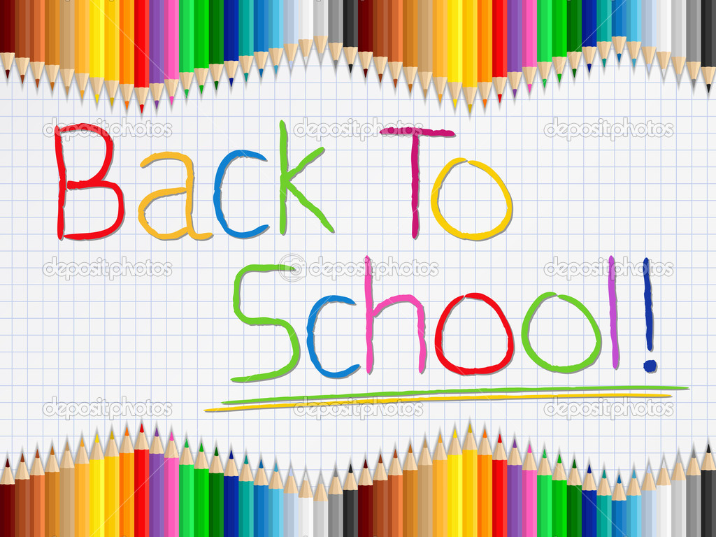 back to school background - photo #8