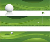 Fondo abstracto golf — Vector de stock