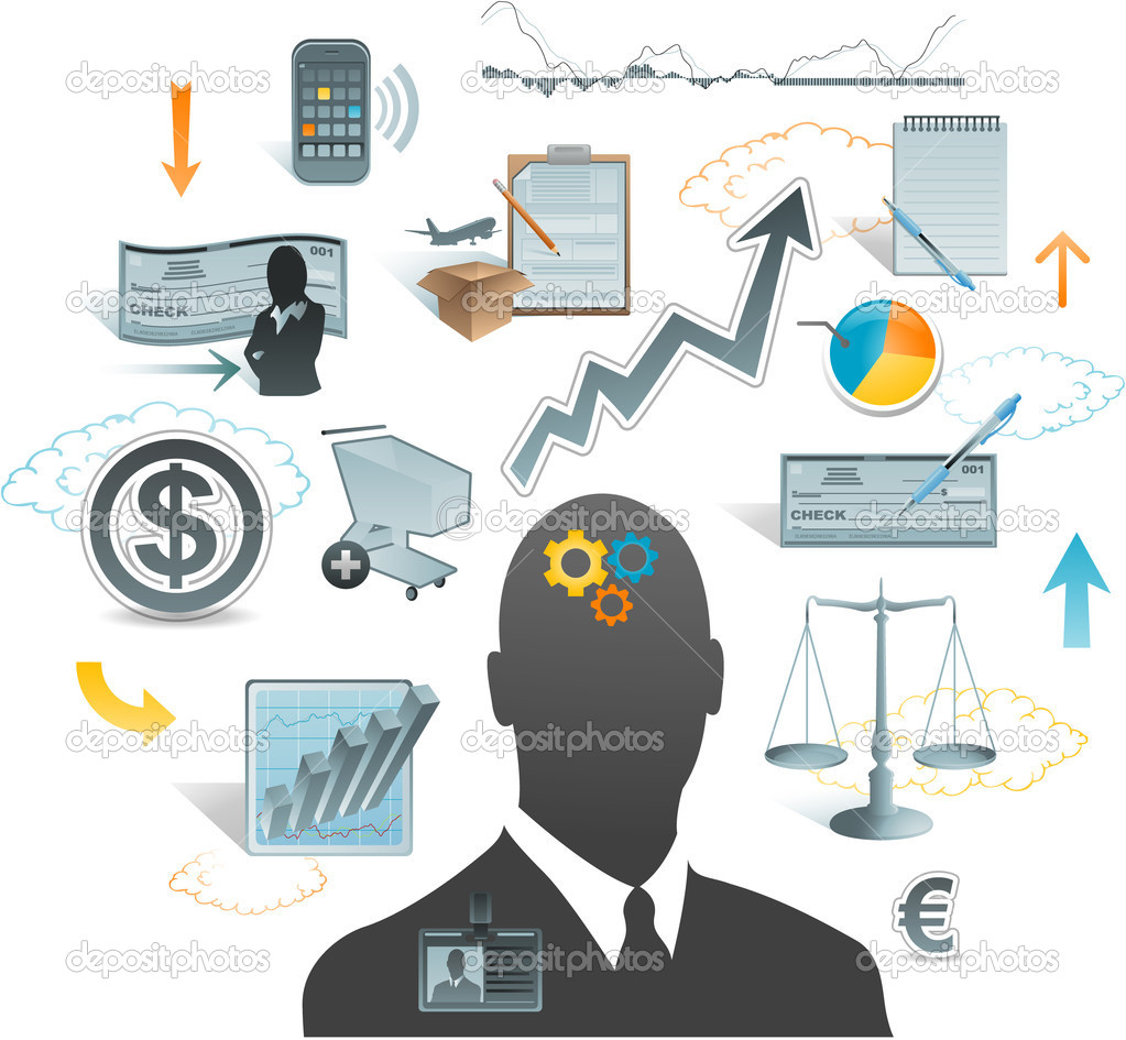 Business concept ideas  Stock Vector #11671869