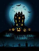 Halloween-hintergrund — Stockfoto