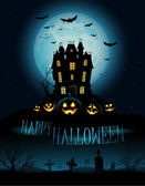 Halloween pozadí — Stock fotografie