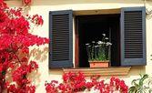 Window to the Mediterranean — Stock Photo