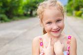 Ritratto di bambino felice — Foto Stock