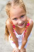 Portrait of happy child — Stock Photo
