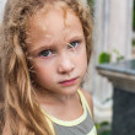 Sad little girl — Stock Photo #11342475