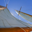 Views of the private sail yacht. — Stock Photo