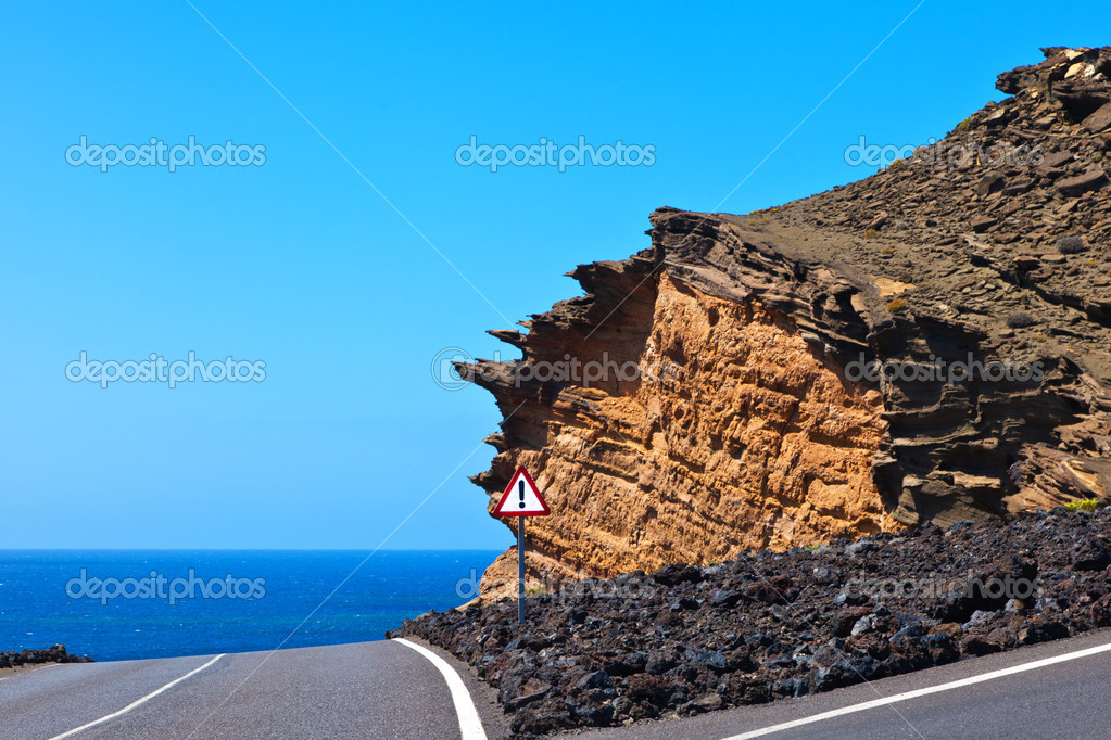 Cliff among crossroads — Stock Photo #11433723