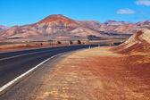 Road among mountains — Stock Photo