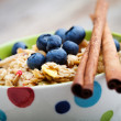 Breakfast muesli — Stock Photo #12000392