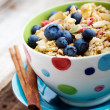 Breakfast muesli — Stock Photo #12000402