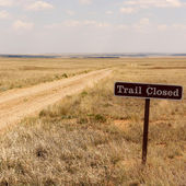 Santa Fe Trail — Stock Photo