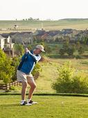 Campo da golf — Foto Stock