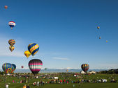 Balloon Festival — Stock Photo
