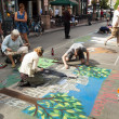 Chalk Drawings - Photo