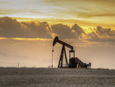 Pumpjack — Stock Photo