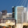 Denver Millennium Bridge — Stock Photo