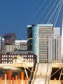 Denver Millennium Bridge — Stock Photo