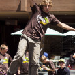Slacklining - Stock Photo