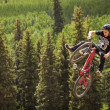 slopestyle bike — Stock Photo