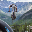 Slopestyle bike — Stock Photo #11165170